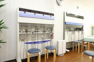 低周波治療器|接骨院 大府市 腰痛治療